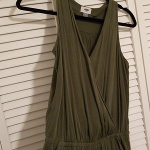 Old Navy | Green Jumpsuit